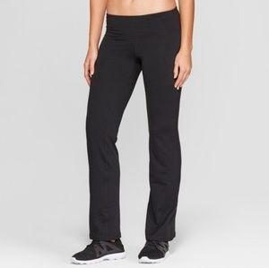 B2G1 Champion Black Knit Mid Rise Yoga Pants